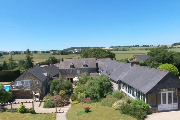 Thumbnail Detached house for sale in 22330 Le Gouray, Côtes-D'armor, Brittany, France