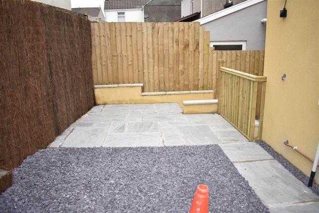 External of 13 New Dwelling Green Street, Morriston, Swansea SA6