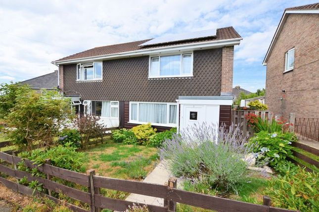 Thumbnail Semi-detached house for sale in Johnson Close, Bere Alston, Yelverton