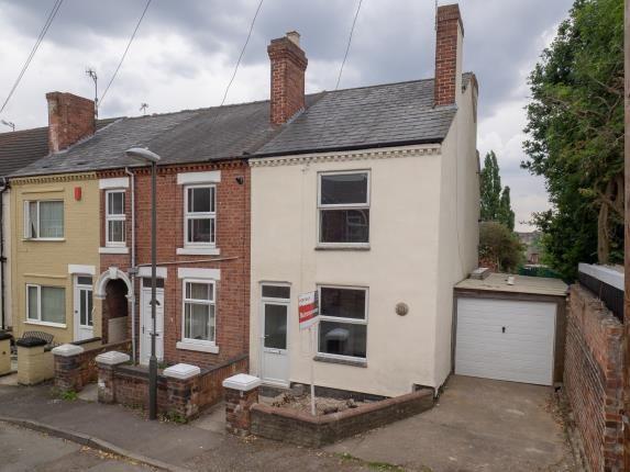 Thumbnail End terrace house for sale in Regent Street, Langley Mill, Nottingham, Derbyshire