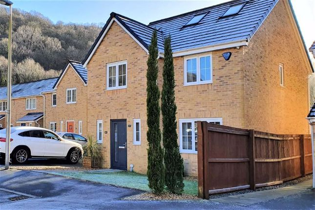 Thumbnail Detached house for sale in Llys Cambrian, Godrergraig, Swansea