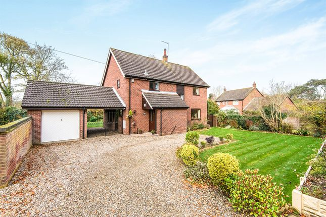 Thumbnail Detached house for sale in Norwich Road, Strumpshaw, Norwich