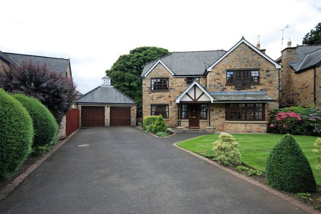 Thumbnail Detached house for sale in Southgate Wood, Morpeth