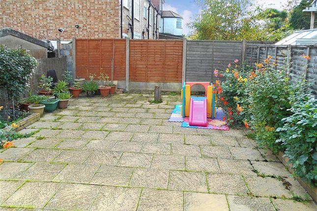 Rear Garden of Maybank Avenue, London E18