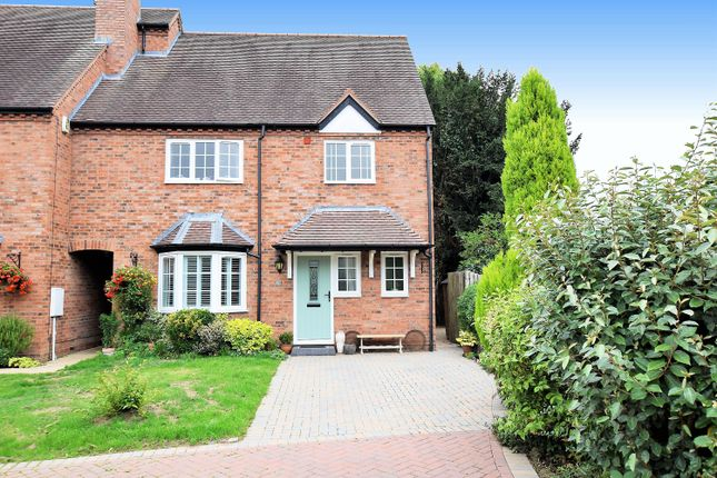 Thumbnail End terrace house for sale in Doctors Close, Tanworth-In-Arden, Solihull
