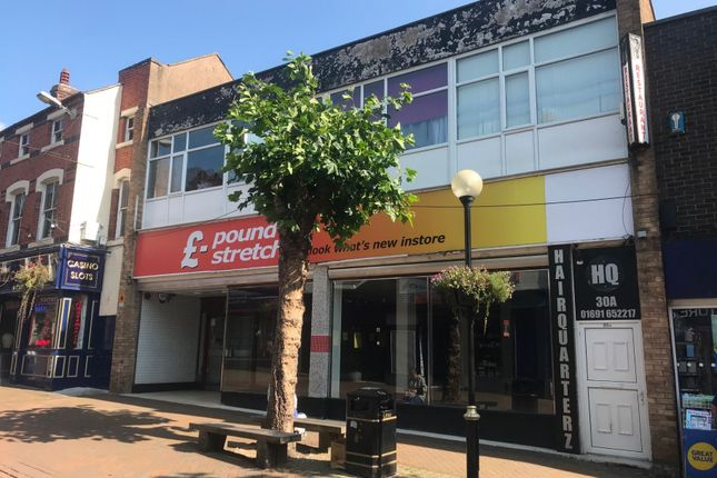 Thumbnail Retail premises to let in Bailey Street, Oswestry