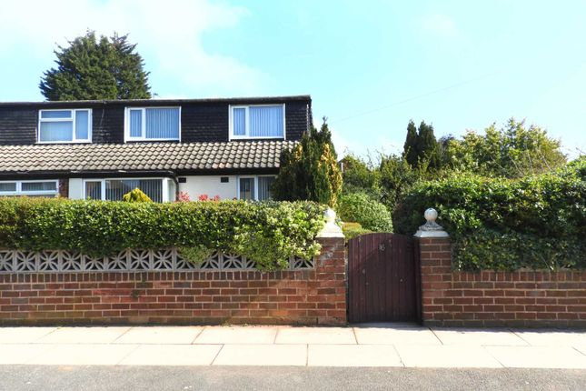 Thumbnail Semi-detached bungalow for sale in Pitsmead Road, Kirkby, Liverpool
