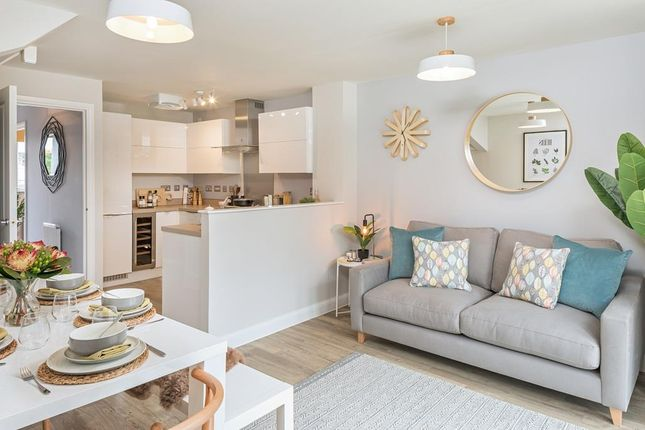 """Thumbnail 4 bed semi-detached house for sale in """"Kingsville"""" at Burlow Road, Harpur Hill, Buxton"""
