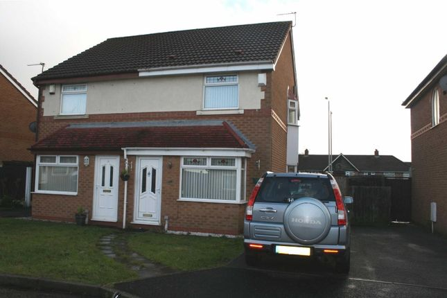 Thumbnail Semi-detached house to rent in Foxglove Close, Fazakerley, Liverpool
