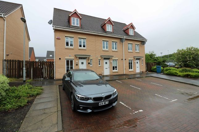 Thumbnail Town house for sale in Brodie Drive, Baillieston