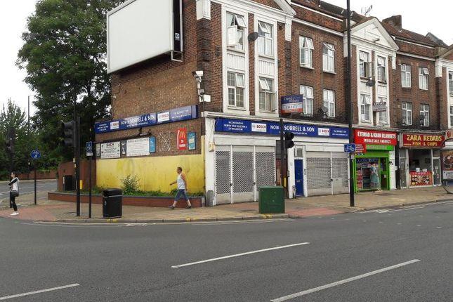 Retail premises to let in High Street, Harrow