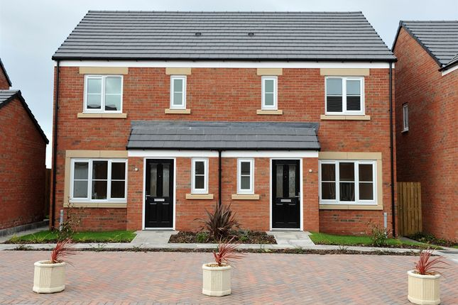 """Thumbnail Semi-detached house for sale in """"The Hanbury"""" at Lakes Road, Derwent Howe Industrial Estate, Workington"""