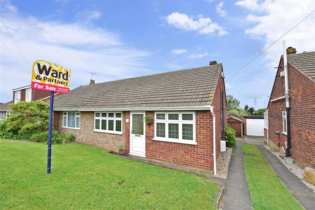 Thumbnail Semi-detached bungalow for sale in Lesley Close, Istead Rise, Kent