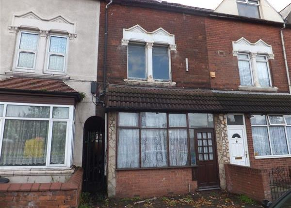 Thumbnail Terraced house for sale in Washwood Heath Road, Ward End, Birmingham