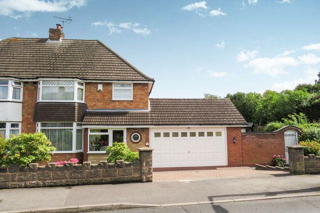 Thumbnail Semi-detached house for sale in Ringmere Avenue, Castle Bromwich, Birmingham