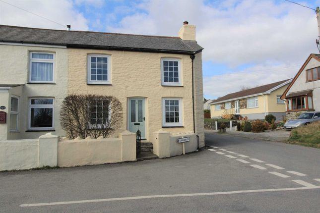 Thumbnail End terrace house for sale in Callington Road, Harrowbarrow, Callington
