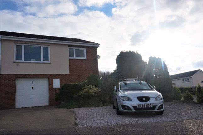 Thumbnail Semi-detached bungalow for sale in Westleat Avenue, Paignton