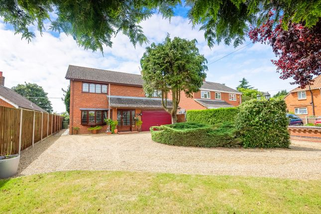 Thumbnail Detached house for sale in Sun Road, Broome, Bungay