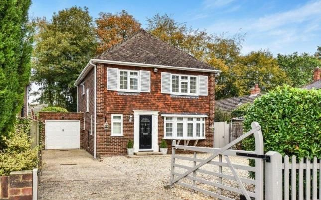 Thumbnail Detached house for sale in Fleet, Hampshire