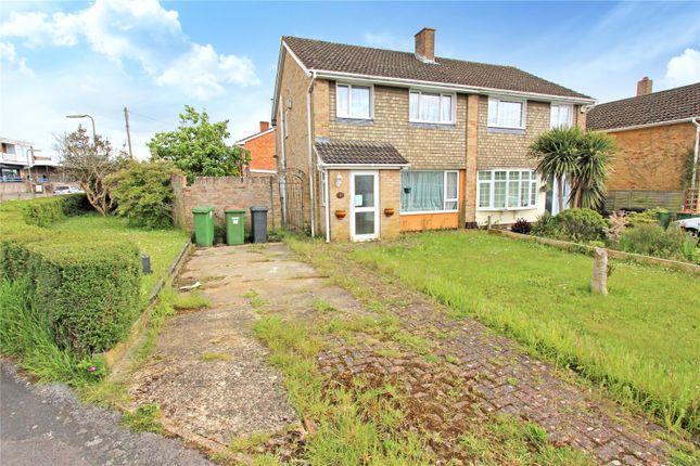 Thumbnail Semi-detached house for sale in Latham Road, Fair Oak, Eastleigh
