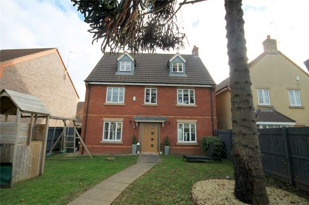 Thumbnail Detached house for sale in Badminton Road, Downend, Bristol