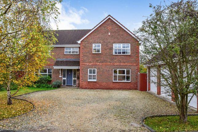 Thumbnail Detached house for sale in Halfway Close, Hilperton, Trowbridge