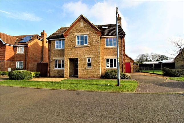 Thumbnail Detached house for sale in Pound Close, Upper Caldecote