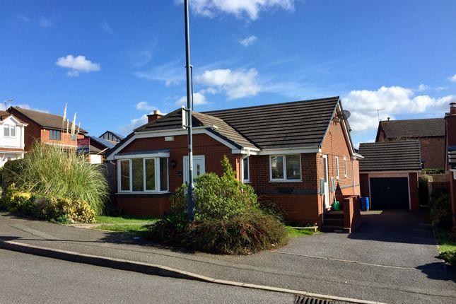 Thumbnail Detached bungalow for sale in Gleadsmoss Lane, Oakwood, Derby