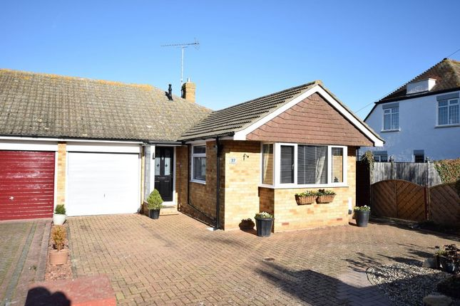 Thumbnail Semi-detached bungalow for sale in Canterbury Road, Holland-On-Sea, Clacton-On-Sea