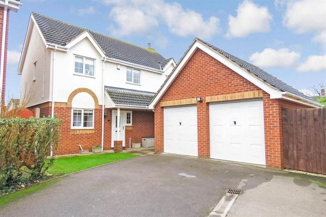 Thumbnail Detached house for sale in Little Beeches, Biggleswade