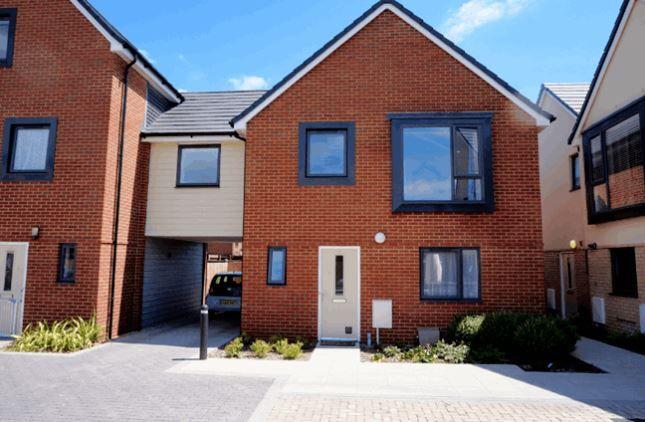 Thumbnail Semi-detached house to rent in Aldersgate Way, Poole