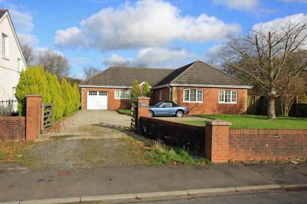 Thumbnail Detached bungalow for sale in Black Lion Road, Gorslas, Cross Hands, Carmarthenshire