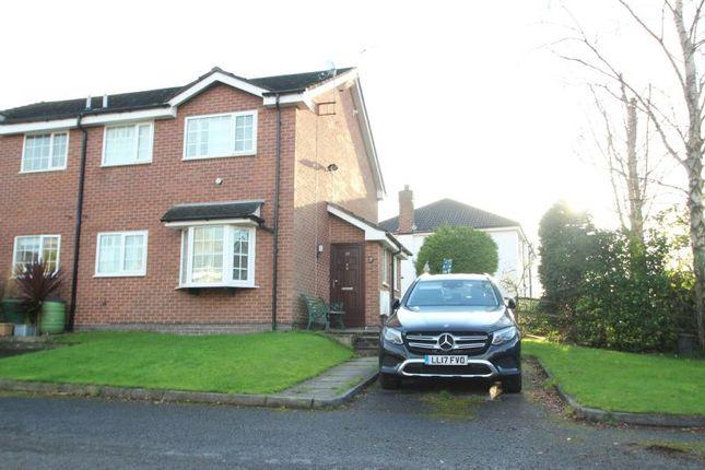 Thumbnail Terraced house for sale in Rainford Avenue, Timperley, Altrincham
