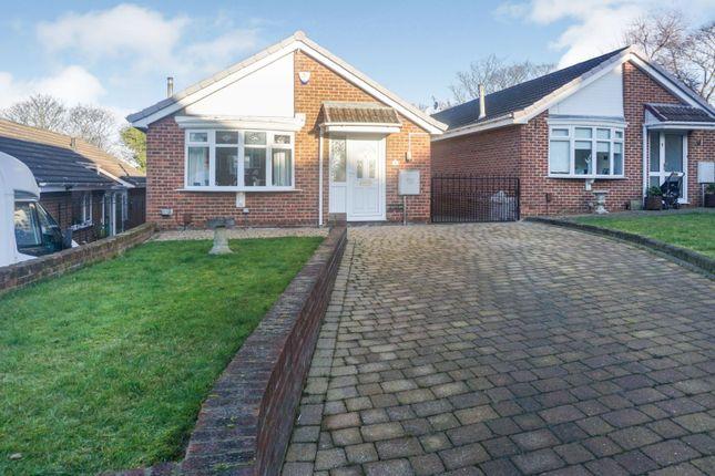 Thumbnail Detached bungalow for sale in Romaldkirk Close, Sunderland