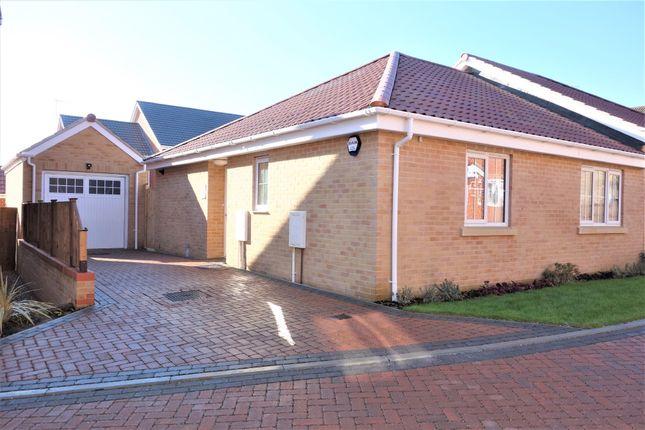 Thumbnail Semi-detached bungalow for sale in Walker Gardens, Wrentham, Beccles