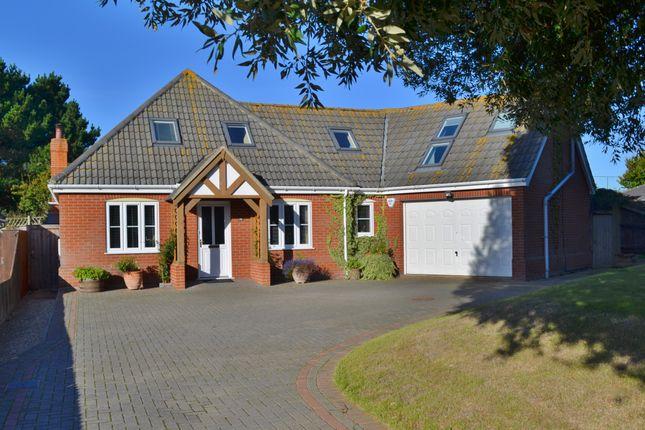 Thumbnail Detached bungalow for sale in Maybush Lane, Felixstowe