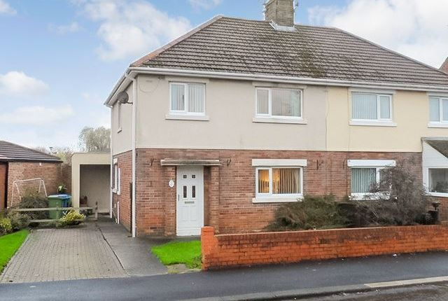Thumbnail Semi-detached house to rent in Shields Road, Morpeth