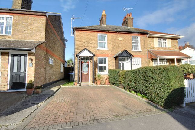 Thumbnail Semi-detached house for sale in Prairie Road, Addlestone, Surrey