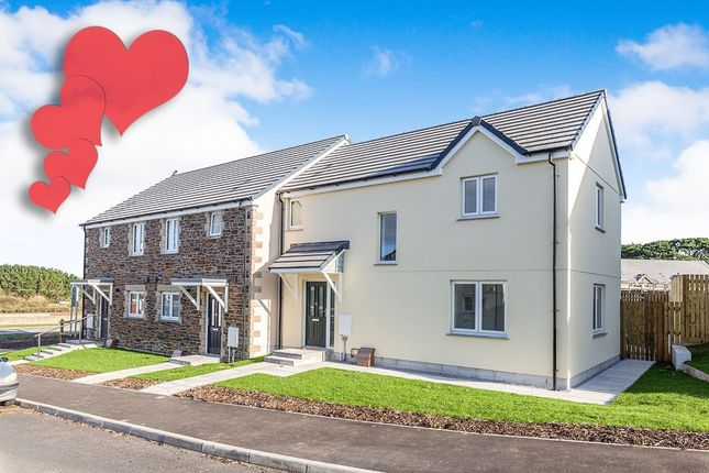 Thumbnail Terraced house for sale in Treskerby Woods Scorrier Road, Redruth