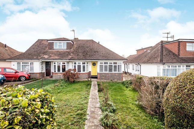 Thumbnail Bungalow to rent in Upper Shoreham Road, Shoreham-By-Sea