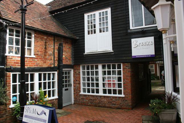 Thumbnail Retail premises for sale in Borelli Yard, Farnham