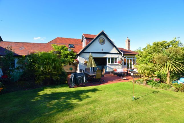 Rear Garden of Milner Road, Heswall, Wirral CH60