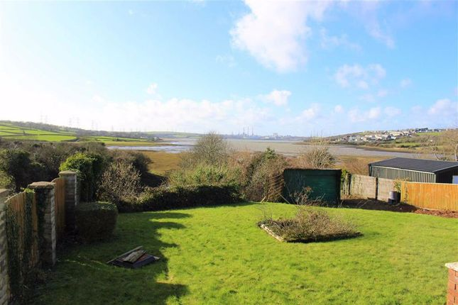 Thumbnail Detached bungalow for sale in Long Mains, Monkton, Pembroke