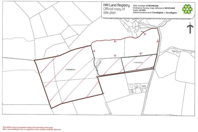 Thumbnail Land for sale in Bettws, Lampeter