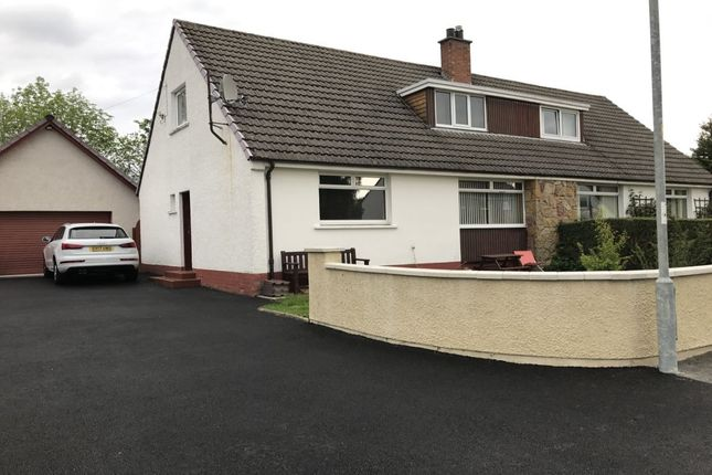 Thumbnail Semi-detached house to rent in Grigor Drive, Inverness