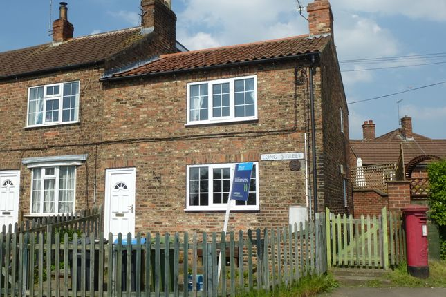 Thumbnail Cottage for sale in Long Street, Easingwold, York