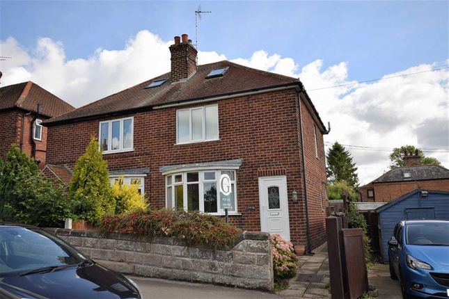 Thumbnail Semi-detached house for sale in Landseer Road, Southwell, Nottinghamshire