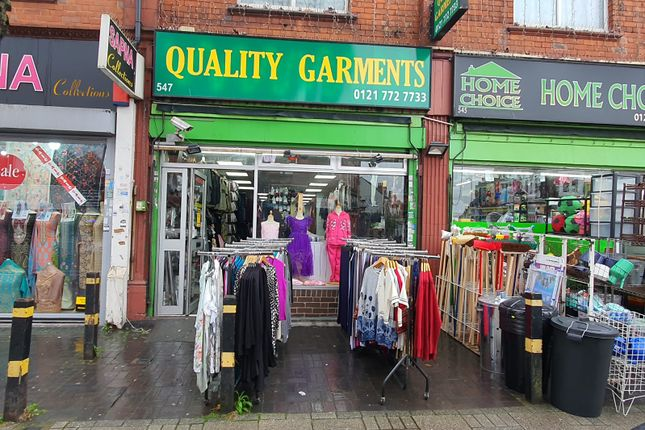 Thumbnail Retail premises to let in Stratford Road, Sparkhill Birmingham