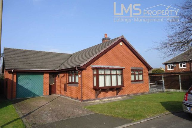 Thumbnail Bungalow to rent in Delamere Rise, Winsford