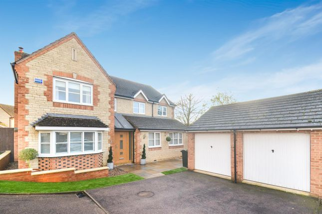 Thumbnail Detached house for sale in Sorrel Mead, Bure Park, Bicester
